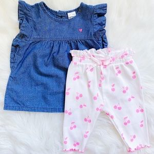 Carter's + Zara Baby Girl Outfit 🎀 Size 3-6M
